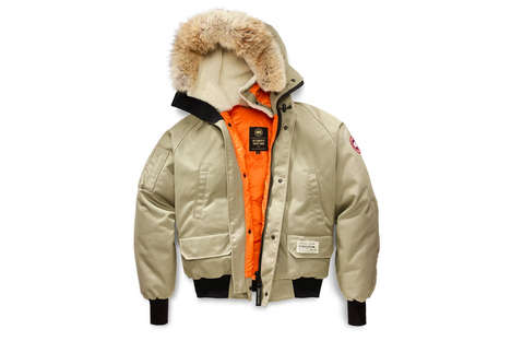 Rapper-Branded Winter Wear - These Canada Goose and OVO Jackets Come in Two Different Colorways