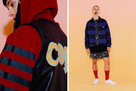 Vibrant 80s-Inspired Menswear - CONVERSE TOKYO's Spring/Summer Series Draws from Americana Films