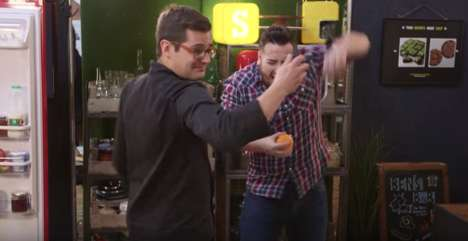 Electrifying Cooking Challenges - SORTEDfood Challenged Its Chefs to Cook While Wearing Shock Bands