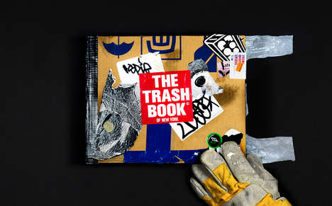 Trash Collection Books - The Trash Book of New York is Made from All-American Trash
