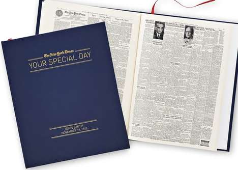 Commemorative News Books - The New York Times' 'Your Special Day' Collects Stories from Any Date