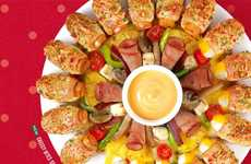 Shareable Festive Pizzas - This Pizza Hut Singapore Creation Features a Treat for One Lucky Person