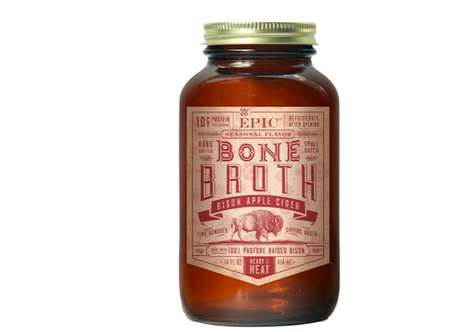 Festive Bone Broths - EPIC is Now Making Bone Broth in a Jar for the Holidays