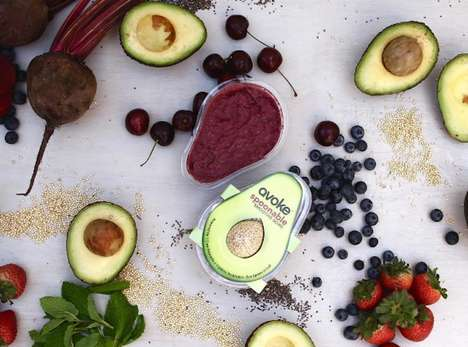 Prepackaged Smoothie Bowls - Avoke Created the First-Ever Portable 'Spoonable' Smoothie Bowl