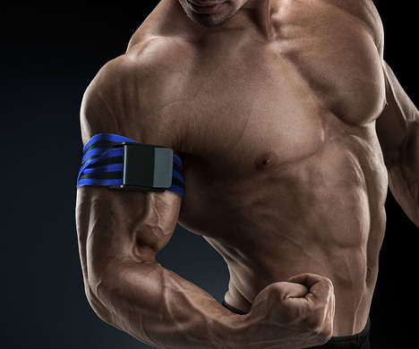 Oxygen-Restricting Workout Bands - The Occlusion Training Blood Flow Restriction Bands Aid Training