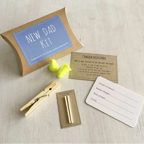 Humorous New Dad Kits - This Novelty Gift for Dads Pokes Fun at New Responsibilities