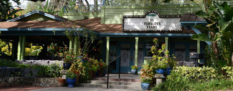 Greenery-Covered Cinemas - Orlando's 'Enzian Theater' Showcases Alternative and Independent Films