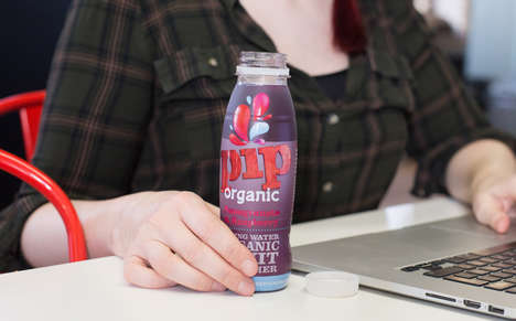 Fruity Hydration Drinks - The New Pip Organic Juice Drinks are Free of Sweeteners and Added Sugar