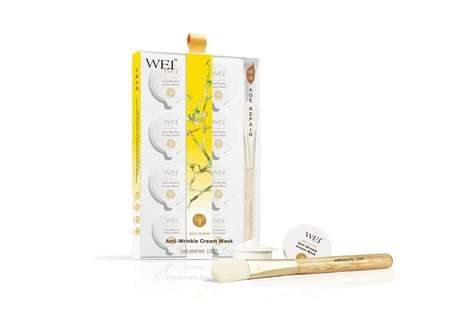 Bee Venom Face Masks - Wei Beauty's Anti-Wrinkle Cream Masks are Powered by Manuka Bee Venom