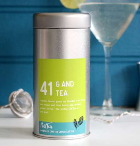 Cocktail-Inspired Teas - PostTea's Cocktail Tea Product Takes Inspiration from Gin & Tonic