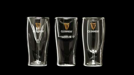 Cocktail-Themed Beer Glasses - These Guinness Glass Designs Put a Fresh Spin on a Classic Form