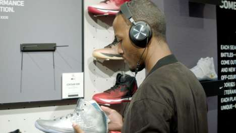 Aural Footwear Tours - Foot Locker Audio Tours Show Off Sneakers with Museum-Like Methods
