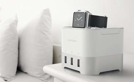 Organizational Device Chargers - The Satechi Smart Charging Stand Keeps All Devices Powered Up