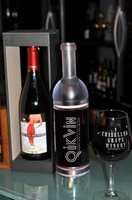 Wine-Preserving Bottles - QikVin Prevents Opened Wine Bottles from Succumbing to Oxidation