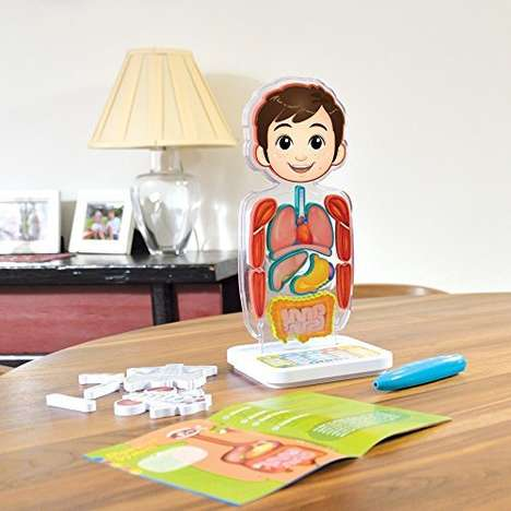 Smart Anatomy Toys - The Oregon Scientific Smart Human Body Anatomy Toy is Interactive