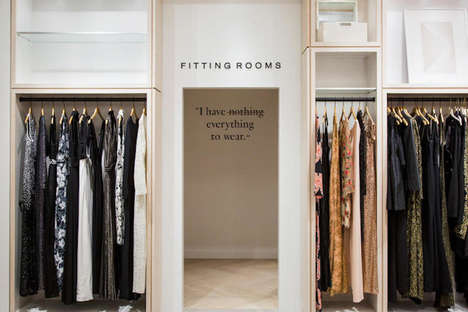 Personalized Retail Shopping Experiences - 'Rent the Runway' Now Has a Brick and Mortar Space