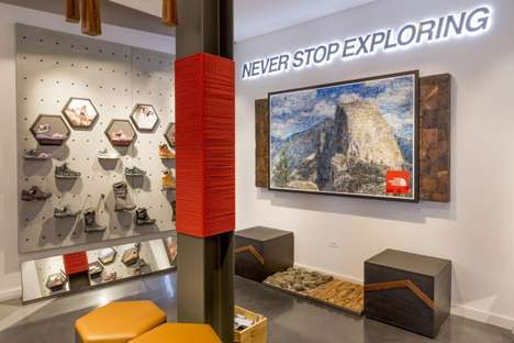 Adventurous Retail Stores - The North Face's New Flagship is Inspired by Outdoor Adventures
