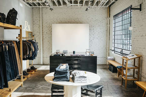 Rustic West Coast Retailers - The 3sixteen Flagship Fashion Store Has Clothing and Lifestyle Items
