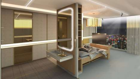 Accessible Hotel Room Concepts - The 'AllGo' New Hotel Rooms Can Change to Different Guest Needs