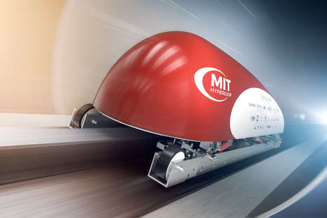 Hyperloop Transportation Pods - The MIT Hyperloop Pod Would Carry Passengers and/or Cargo