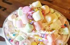 Chromatic Unicorn Hot Chocolates - This Hot Beverage from Crème and Sugar is Folklore-Inspired