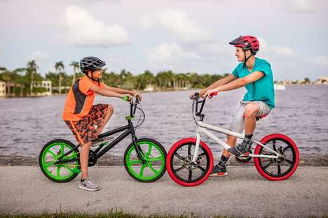 Chromatic Electric BMX Bikes - The Life EV Electric BMX Bike is Affordably Priced and Efficient