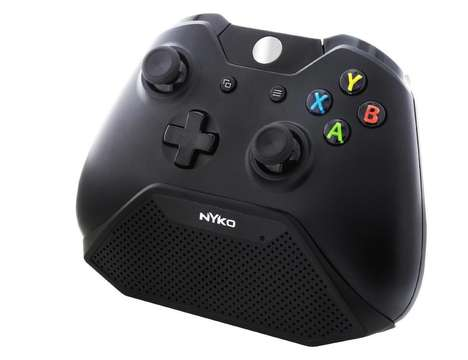 Game Controller Walkie Talkies - The Nyko Speaker Com Fits the Contours of the Xbox One Controller