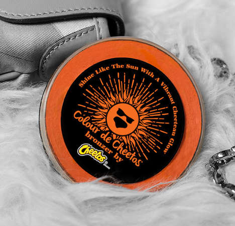 Snack Brand Makeup Bronzers - The 'Colour de Cheetos' Bronzer Powder is the Hue of the Snack Food
