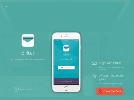 Digital Bill-Organizing Apps - The 'Billter' App Combines Service Bills into One Unified Spot