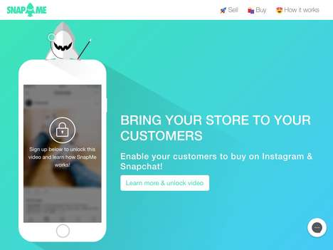Social Media eCommerce Services - 'SnapMe' Enables Instagram Shopping Directly from a Feed