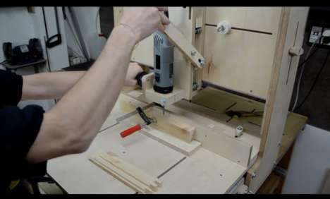 DIY Router Projects - This DIY 3D Router Enables Precision in Home Improvement Projects