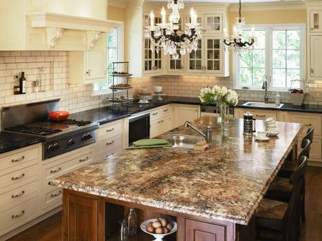 Convincing Laminate Countertops - Formica Laminate Looks Just Like Marble at a Fraction of the Cost