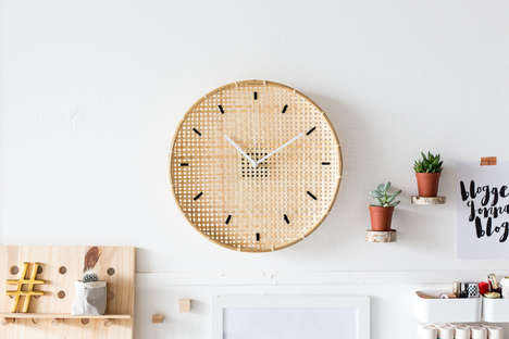 Embroidered Clock DIYs - Fall For DIY's Charming Project is Inspired by High-End Home Accessories