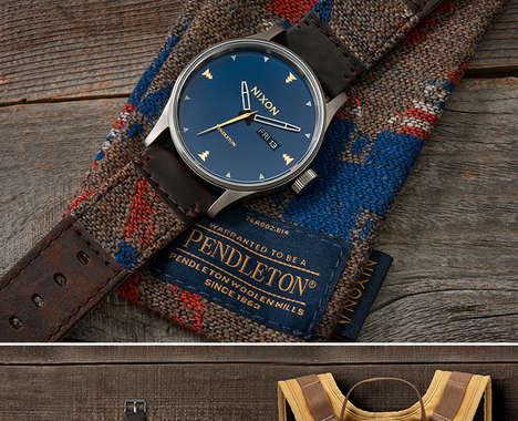 Americana Blanket Wristwatches