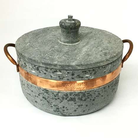 Soapstone Cooking Pots - The Ancient Cookware Brazilian Soapstone Pot Enables Pressure Cooking