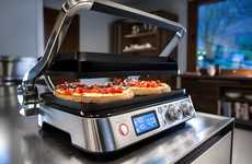 Multi-Meal Electric Grills - The DeLonghi Livenza Combination Contact Grill Cooks a Bevy of Dishes