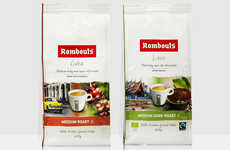 Single-Origin Coffees - The New Rombouts Coffee Range Includes Beans From Single Locations