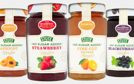 Diabetic-Friendly Jams - The New Stute Foods Fruit Jams Have No Added Sugar