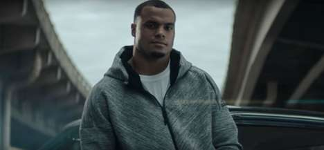 High-Energy Athlete Partnerships - This Dak Prescott adidas Commercial Features Rapper Desiigner