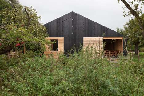 Co-Habitable Livestock Houses - 'Barn Rijswijk' Can House Both Livestock and People
