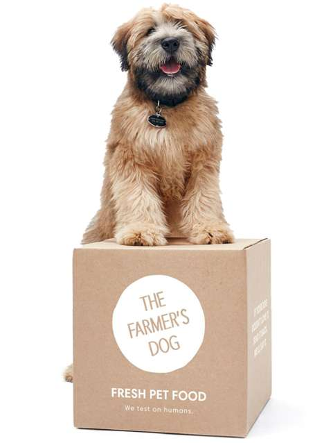 Personalized Pet Food Subscriptions - 'The Farmer's Dog' is a Meal Subscription Service for Dogs