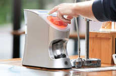 Liquid Vitamin Dispensers - The Tespo Liquid Vitamin Dispenser Creates Nutritious Vitamin Shots