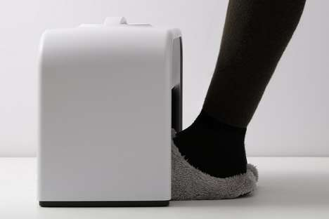 Foot-Warming Office Appliances - The 'Mood' Foot Warmer Keeps Feet Toasty During the Winter Months