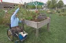 Accessible Urban Gardens - The New Common Roots Urban Farm Garden is Wheelchair-Accessible