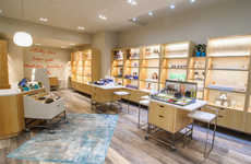 Credo Beauty's New York Store Boasts Rustic Retail Displays and Singage