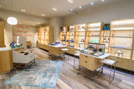 Clean Beauty Boutiques - Credo Beauty's New York Store Boasts Rustic Retail Displays and Singage