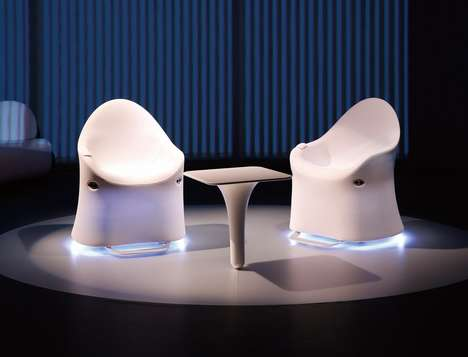 Roving Mobility Furniture - The 'ILY-I' Mobility Chair Shifts and Moves in a Number of Ways