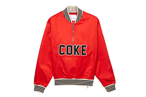 Retro Soda-Branded Apparel - This Coca-Cola Clothing Line Was Made in Collaborating with Been Trill