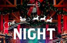 VR Christmas Adventures - Samsung's 'The Night Before' Simulates a Sleigh Ride with Santa