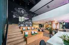 """Multi-Colored Co-Creative Spaces - This Design Concept Will Exist in Shanghai's """"Silicon Valley"""""""